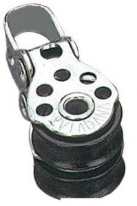 Microbozzello inox 2 pulegge 17x5