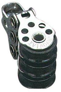 Microbozzello inox 3 pulegge 17x5