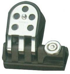 Passascotte con bozzello per rotaia 25/26 mm