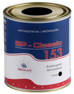 Antivegetativa autolevigante Classic 153 nera 0,75 l