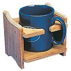 Porta tazza o lattina teak
