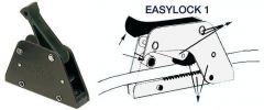 Easylock anodizzato nero singolo