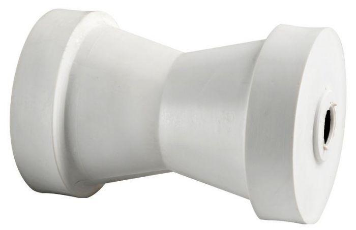 02.003.02 Rullo centrale 130 mm bianco