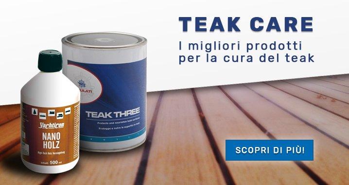 I migliori prodotti per la cura del Teak in barca